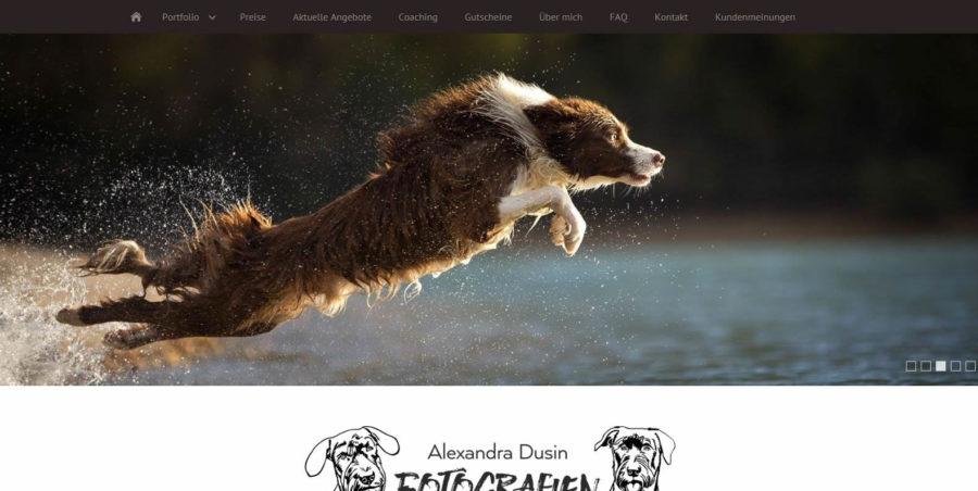 Alexandra Dusin-Fotografien - Homepages 4U - Creative Webdesign
